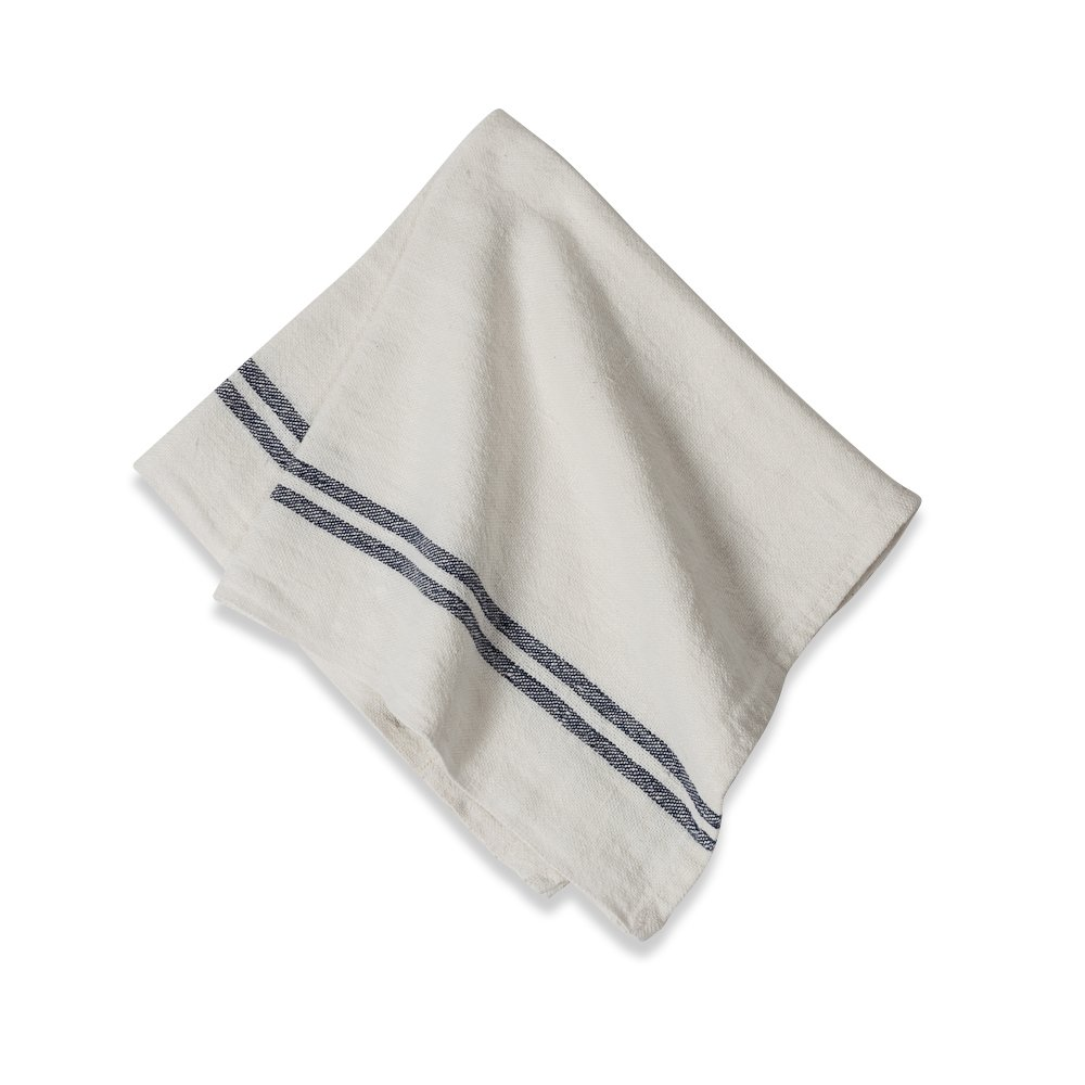table napkins. amazon.com: caravan collection by couleur nature khadhi linen napkins, 20-inches 20-inches, navy stripe, set of 4: home \u0026 kitchen table napkins