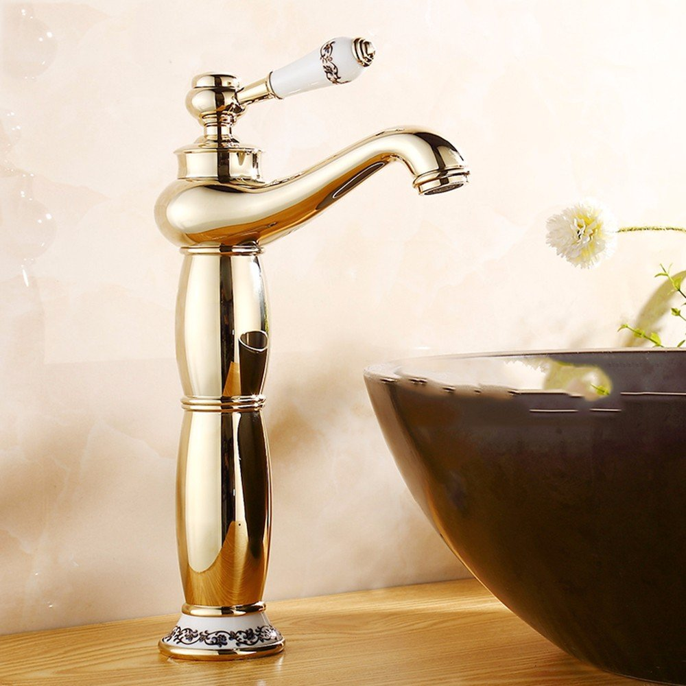 6 Hlluya Professional Sink Mixer Tap Kitchen Faucet Hot and cold, the basin, plus high, Single Hole, sink Faucet 14