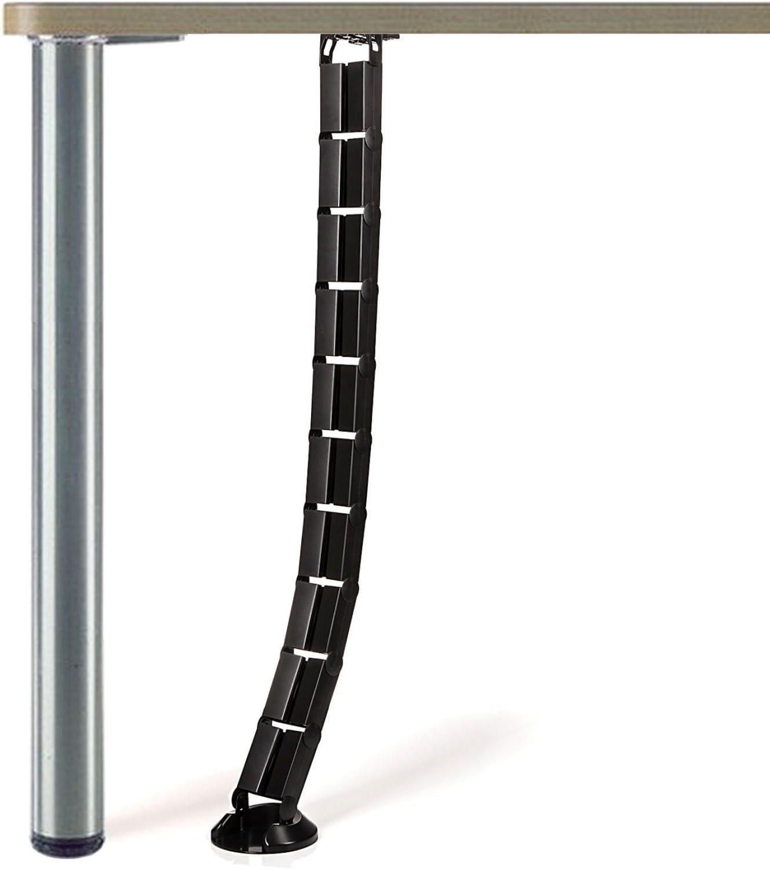 Dataflex Passage de 10 c/âbles 1.5m noir