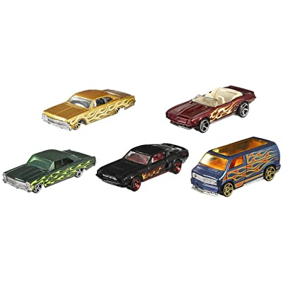 Hot Wheels 2020 HW Flames 5-Pack: Toys & Games