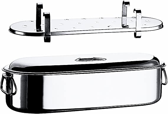 Mepra Fish Cooker with Grill And Lid