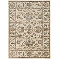Radici USA, us home, RAE2P 3562/0023/BONE Colosseo 22 X 77 Area Rug, 22 x 77, Bone