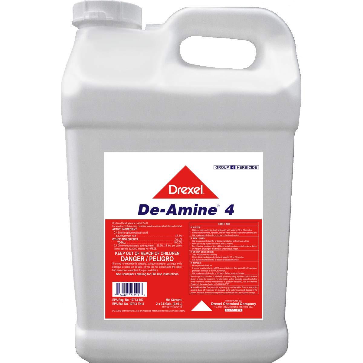 Southern Ag Drexel De-Amine 4 -Same As- 2, 4-D Amine Weed Killer, 128oz - Gallon by Southern Ag