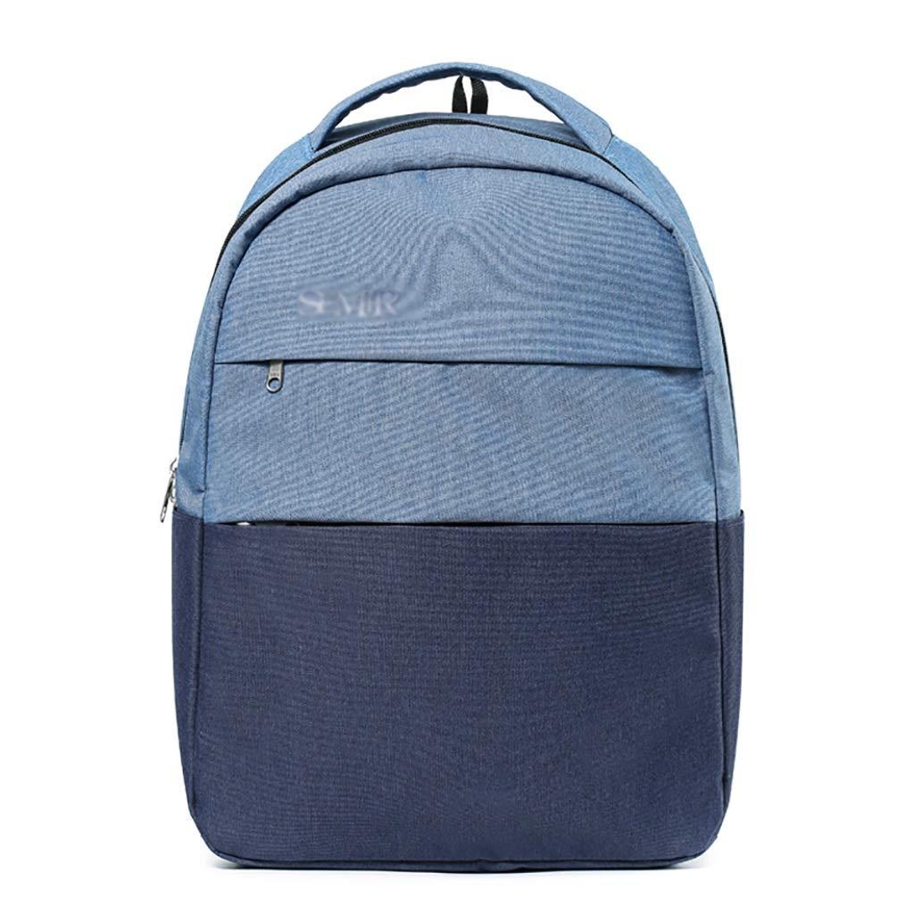 アルパインパック バックパックの学校のバッグレジャー旅行のバックパックアウトドア登山バッグシンプルなキャンパス32 * 14 * 44センチメートル2色 (色 : A)  A B07LGK7LWY