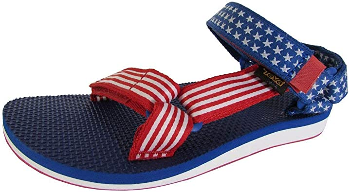 Flip Flops 4th of July Independence Day Fireworks American Flag Womens Outdoor Slippers Top Sandals for Youth