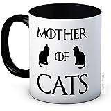 Mother of Cats - Game of Thrones Parodia - Taza de café de cerámica de alta calidad