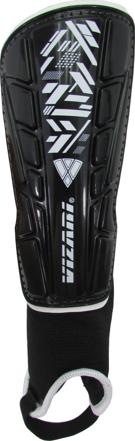 Vizari Malaga Soccer Shin Guards for Kids | Soccer Gear for Boys Girls | Protective Soccer Equipment | Adjustable Straps