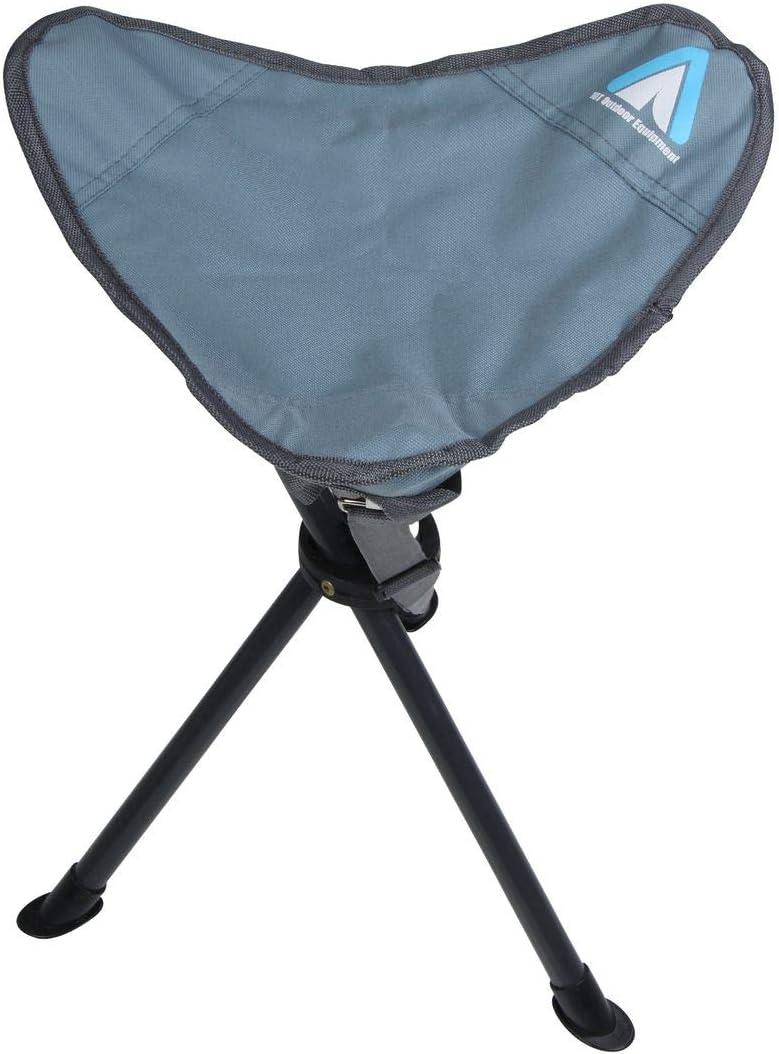 Adulte Tripod Arona Tabouret de Camping Trekking Tabouret Pliant l/éger Pliable Chaise Bleu 1 Personne 10T Outdoor Equipment Mixte