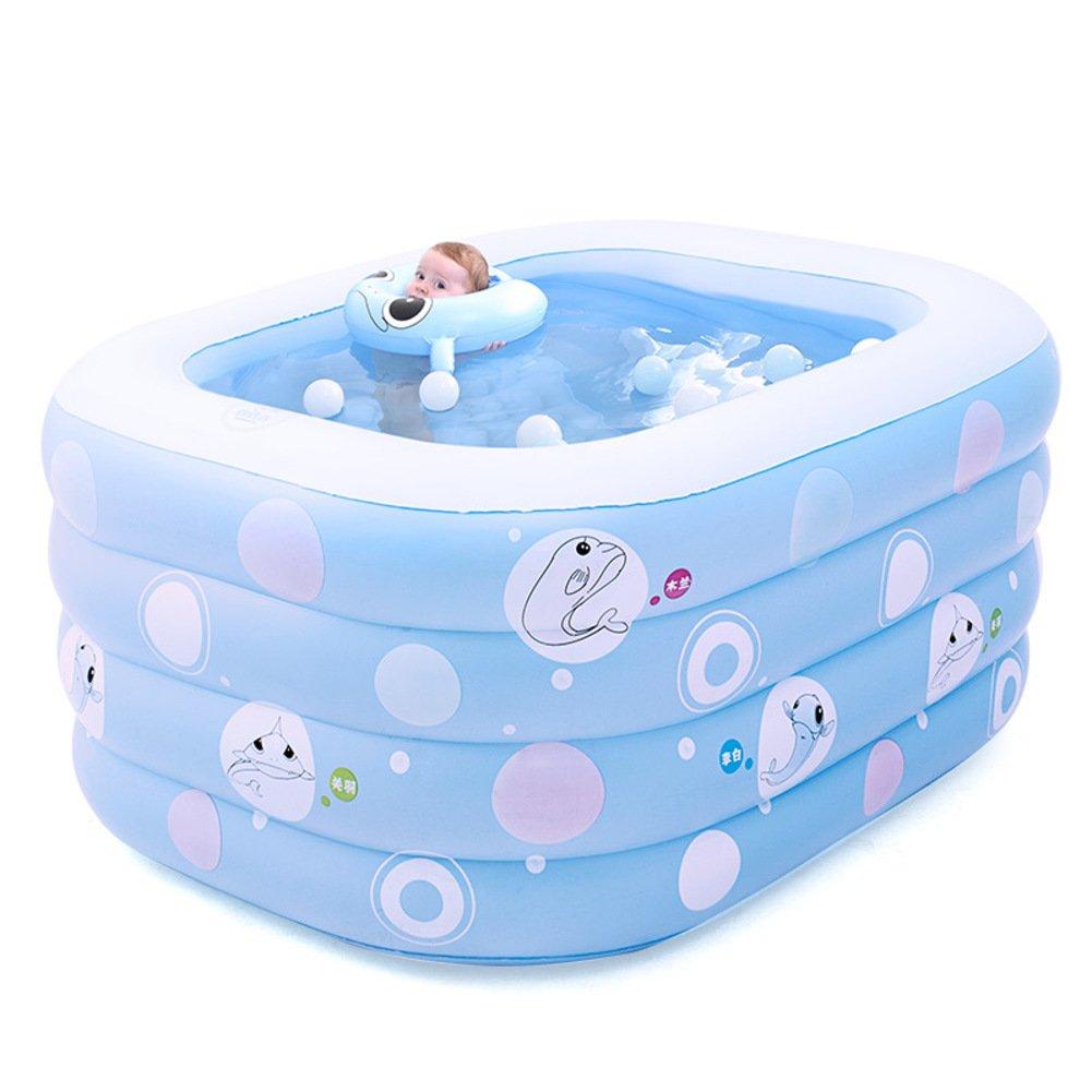 Baby Schwimmbad/Babywanne/Home Neugeborenen gepolsterte Wanne/Kinder Hüpfburg Fässer schwimmen-B