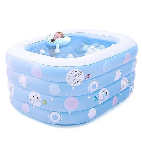 Piscina bebé/Bañera de bebé/Casa recién nacido acolchado tina ...