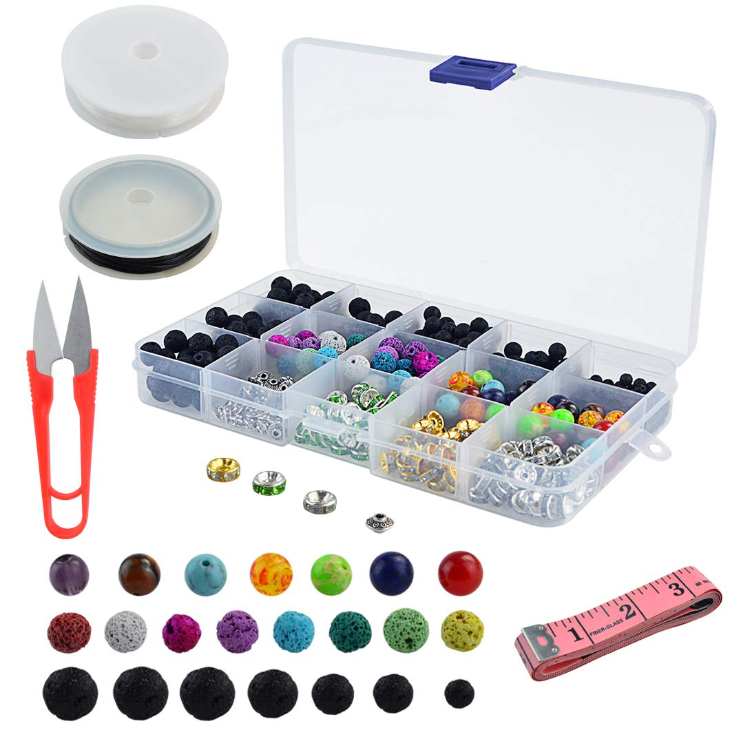 Yoloo 600 pc Lava Beeds and stones bead kit