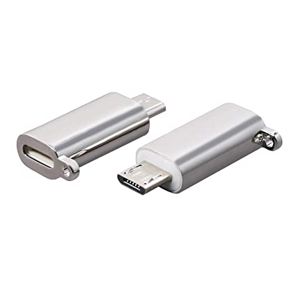 iPhone to Android Adapter, HkittyXiong Apple Lightning to Micro USB Cable  Adaptor Charge Sync Connector for Smartphone, Tablet, GPS, Power Bank