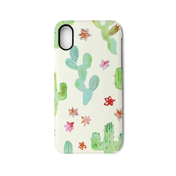 Amazon Com Srel Rtrterwe Phone Case Iphone X Cactus Flower Designs