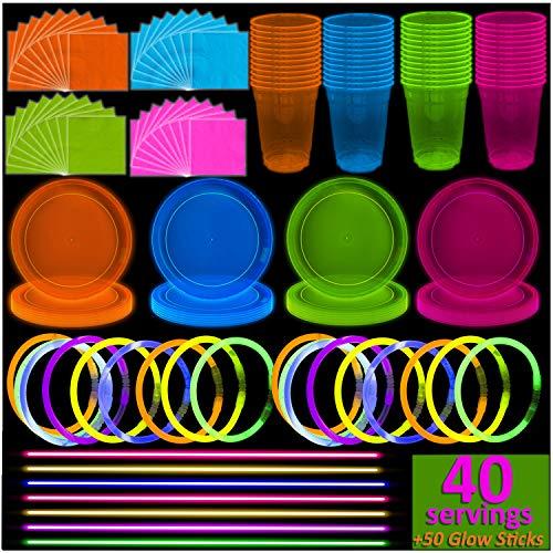 Neon Light Theme (Neon Plates (9