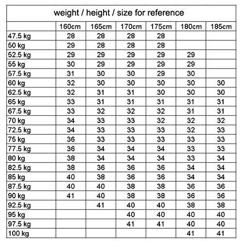 Fori Buco Skinny Colori 5 Elastico Distrutti Denim Stretch Nero Juleya Fit 38 Uomo Slim 28 Jeans Confortevole Z1Aq01