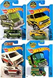 VANS vans vans 2016 Hot Wheels Combat Medic & Fire Chief Super, SWAT Van & Bread Box Van Set Hot Wheels 2015 Performance Art Cars in PROTECTIVE CASES