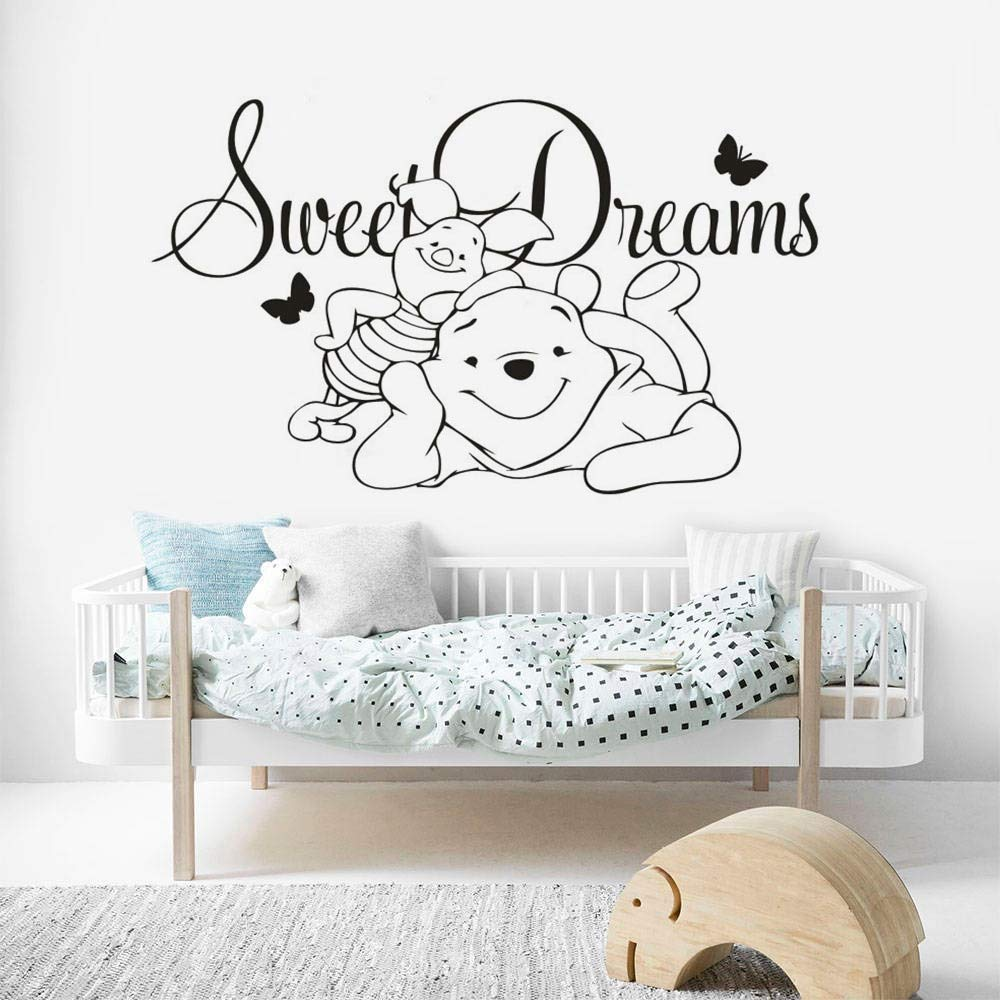 Bear Sweet Dream Vinilo Adhesivo de Pared Dibujos Animados bebé ...