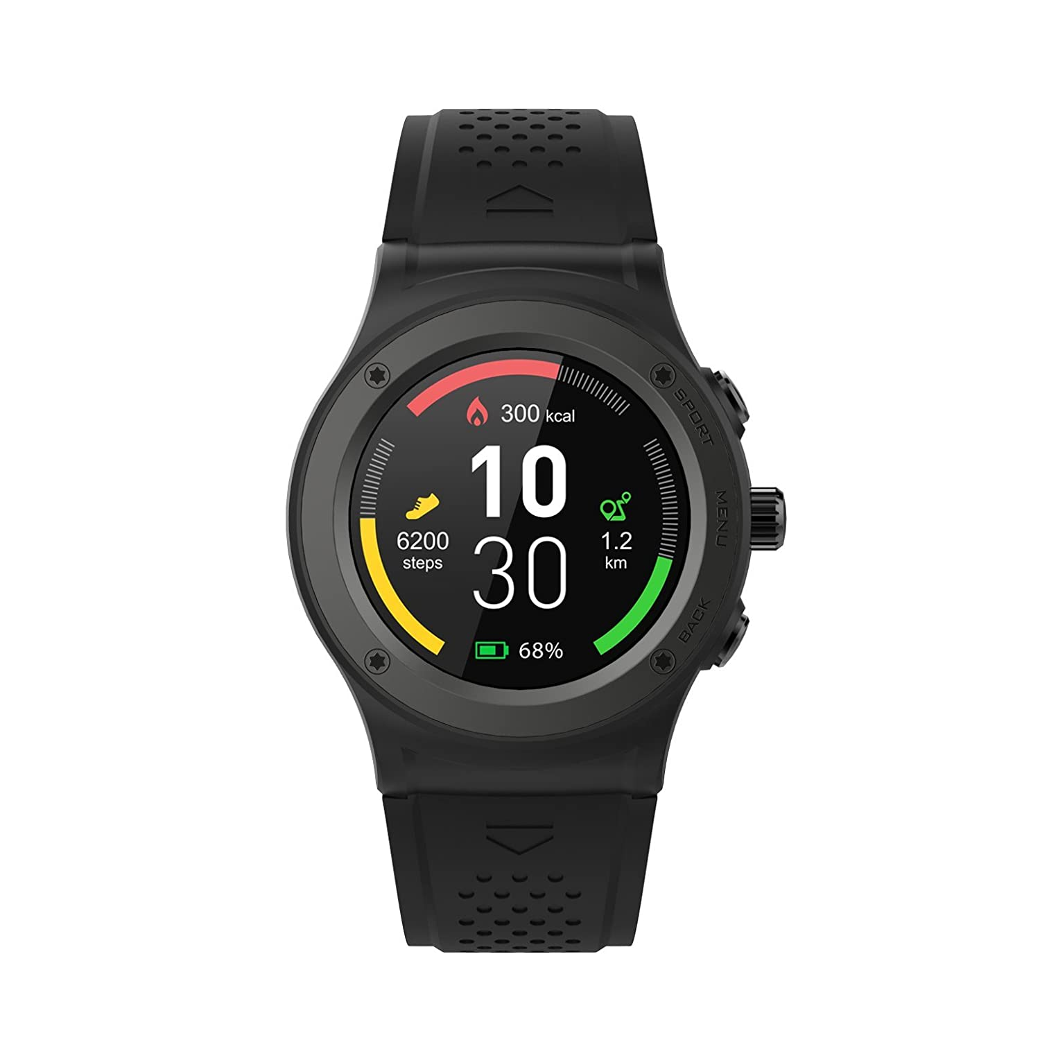 Prixton SWB35 - Smartwatch con GPS, Bluetooth y notificaciones, Color Negro: Prixton: Amazon.es: Electrónica