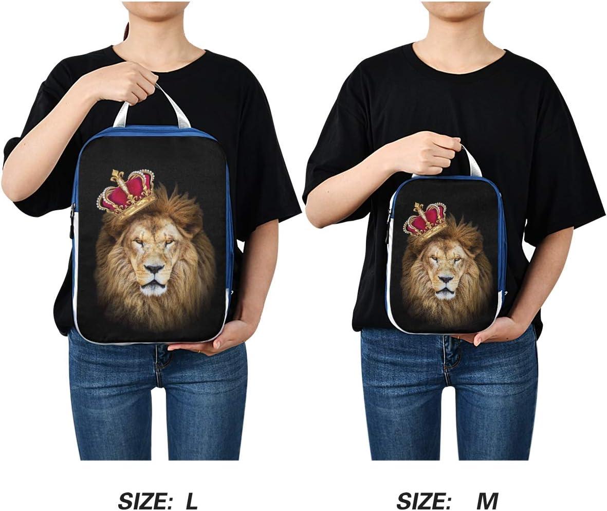 King Lion 3 Set Packing Cubes,2 Various Sizes Travel Luggage Packing Organizers f