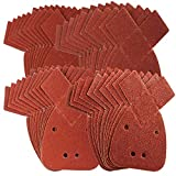 40 Mouse Sanding Sheets to Fit Black and Decker Detail Palm Sander All...