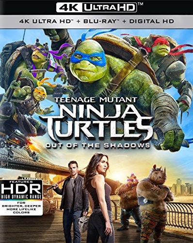 Teenage Mutant Ninja Turtles: Out of the Shadows (4K) [Blu-ray]