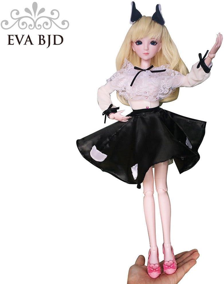 EVA BJD Cat Girl Caroline BJD Dolls 1//4 SD Doll 45cm 18 Jointed Dolls Toy Gift Christams