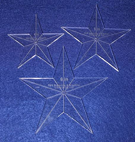 Star Template 3 Piece Set. 4