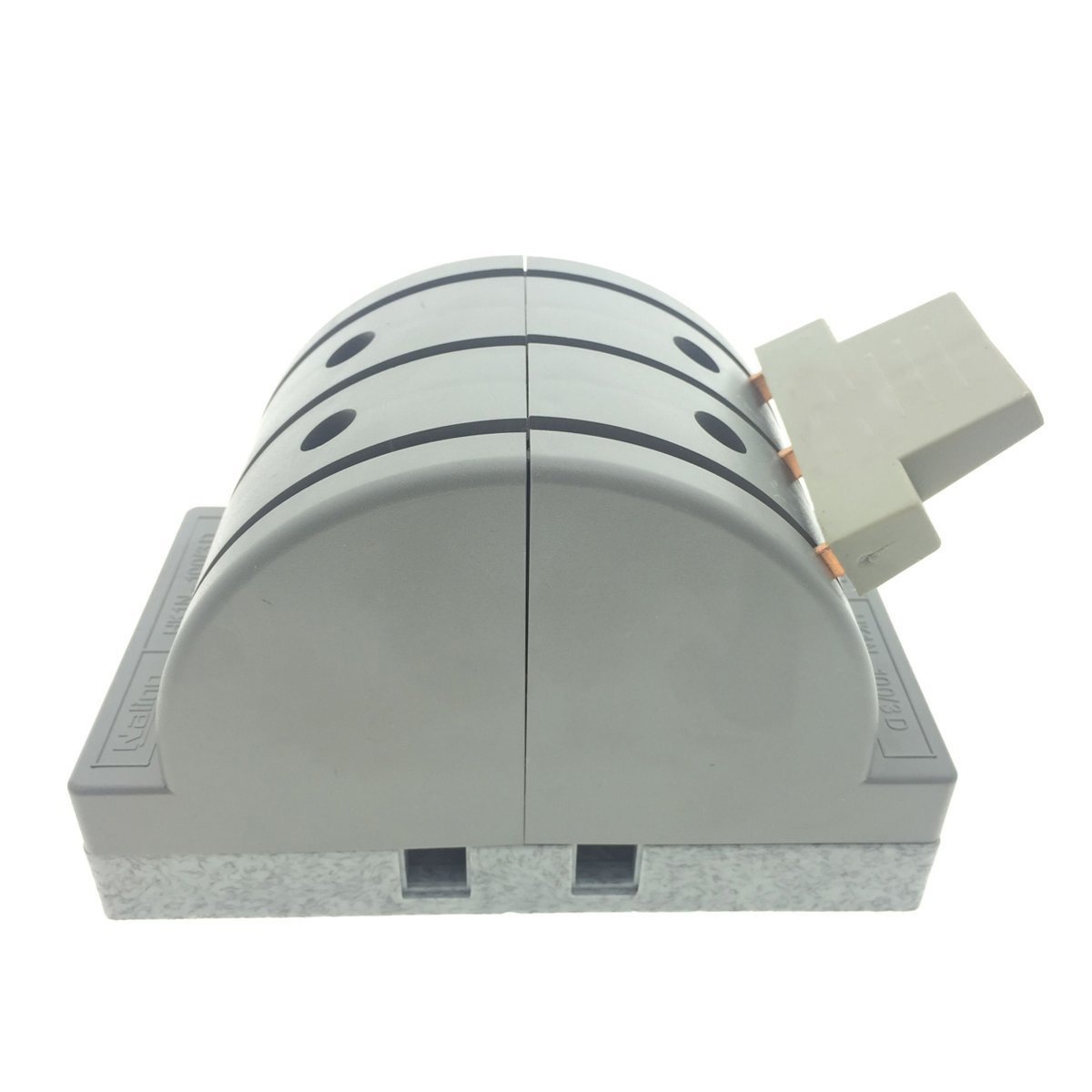 YXQ 380V 100A 3 Pole Double Throw Power Supply Safety Control Knife Switch Gray by YXQ (Image #3)