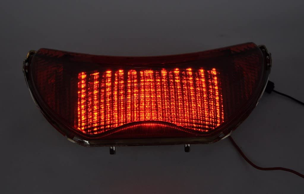Smoked Lens Led Taillights Brake Rear Light For 99-00 CBR600F4//CBR600F 04-07 F4I