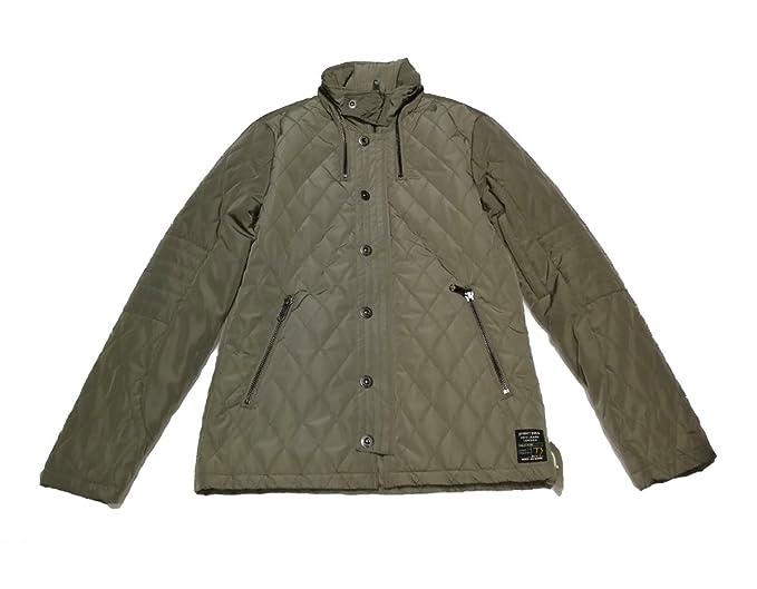Pepe Jeans Abrigo, hombre. acolchado. Color verde talla:Small