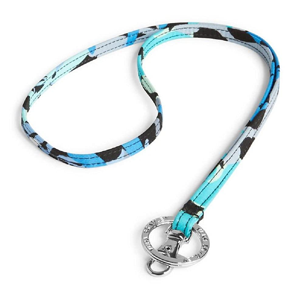 Amazon Com Vera Bradley Lanyard Necklace Strap In Camofloral