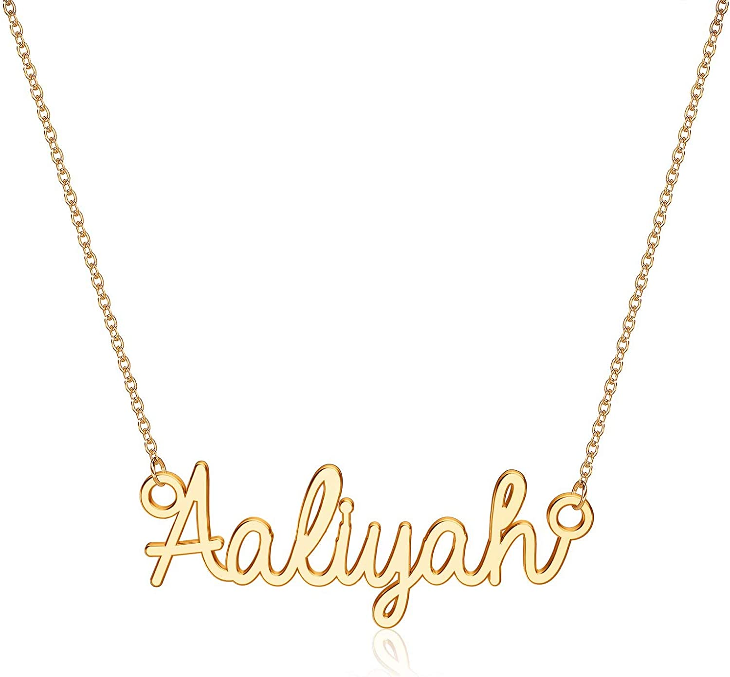 925 Sterling Silver VERONICA Name Necklace Womens Girls Pendant Gift Ready Stock