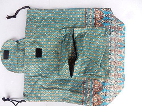 Zaino in cotone con reticolo tailandese