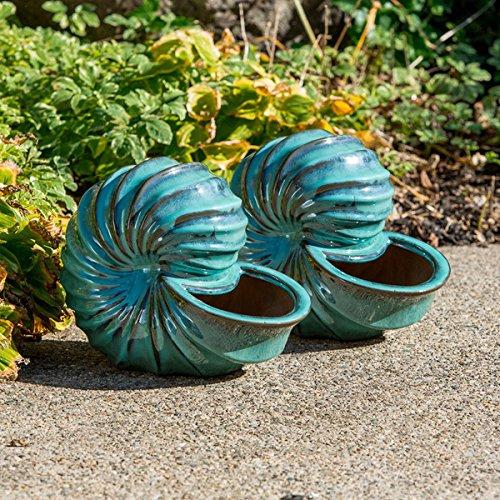 Alfresco Home Ceramic Seashell