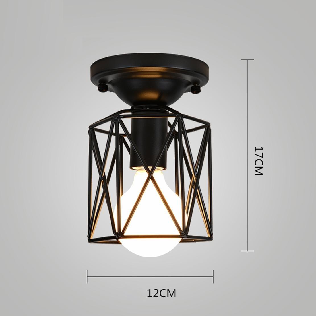 Techo de de Lámpara Iluminación Industria techo Vintage uJc3lTF1K