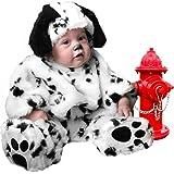 Plush Infant Baby Dalmatian Dog Puppy Costume (18 Months)