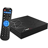 Android TV Boxï T95 Max Android 9.0 TV Box 4 GB Ram/64 GB Rom H6 Quad-Core ondersteuning 2,4 GHz Wifi 6K HDMI Dlna 3D…