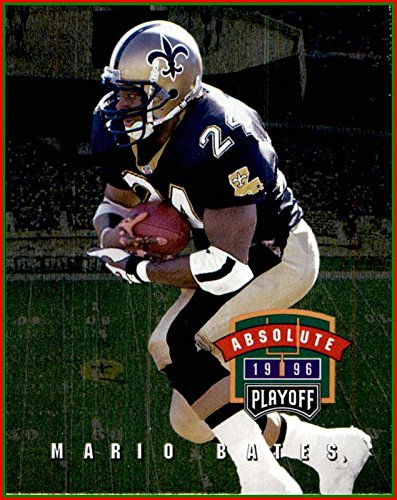 1996 Playoff Absolute #65 Mario Bates NEW ORLEANS - 1996 Playoff Card