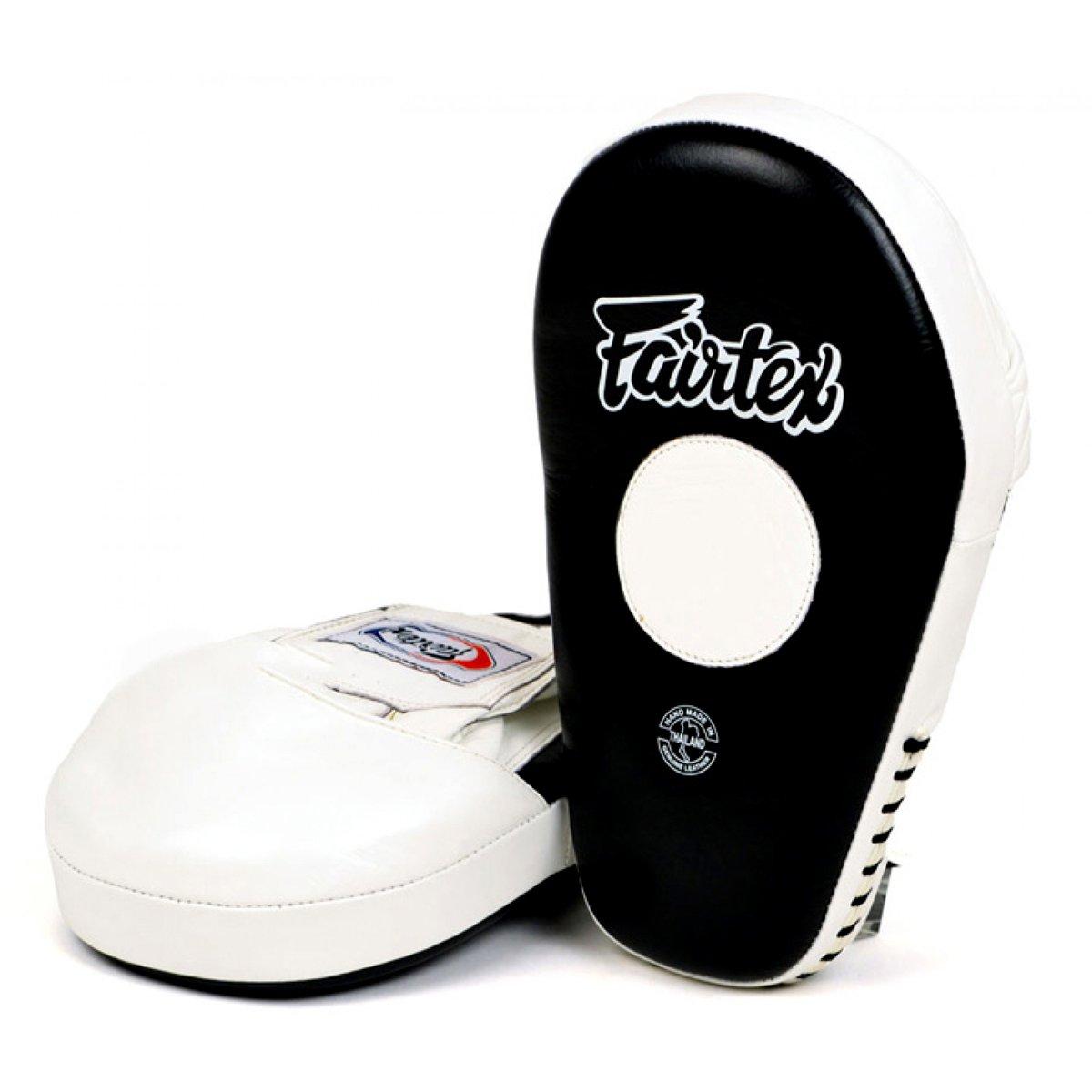 FMV8 Fairtex Pro Angular Focus Boxing Punch Mitts Muay Thai MMA Pads Equipment Thai Boxing Pads by Fairtex