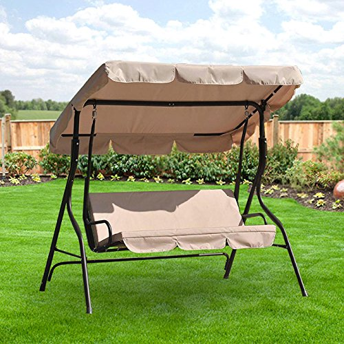 Garden Winds OPEN BOX Virginia Swing Replacement Canopy - Riplock