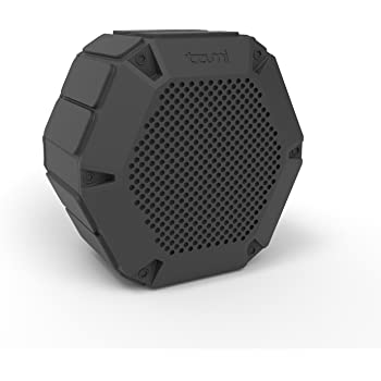 Tzumi AquaBoost Bluetooth Speaker – Fully Waterproof Certified IP68 Floating Speaker for Indoor and Outdoor Use & Perfect For The Beach, Pool, Or Shower