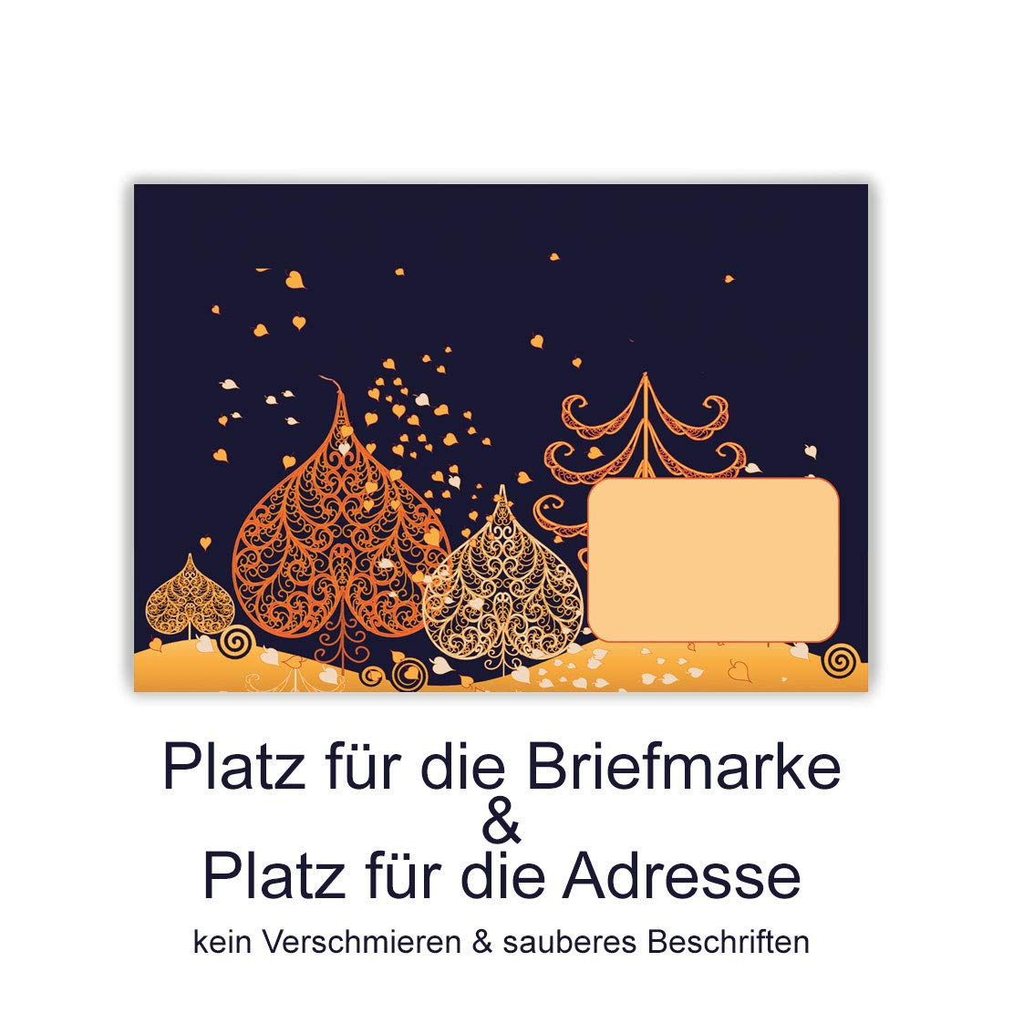 Weihnachtskarten Beschriften.Weihnachtskarten Mit Umschlag Weihnachtspostkarten 15 Stück Im Set