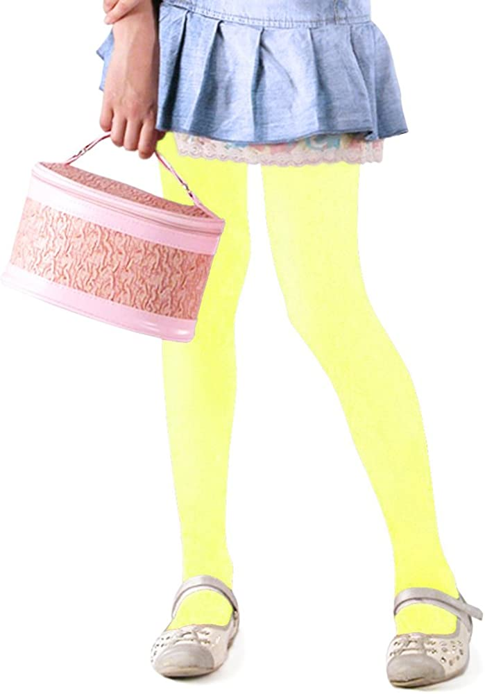 40 denari Kids Fashion Collant da bambina in microfibra semi-opaca