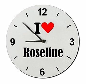 "EXCLUSIVO: Vidrio de reloj ""I Love Roseline"" una gran idea para un"