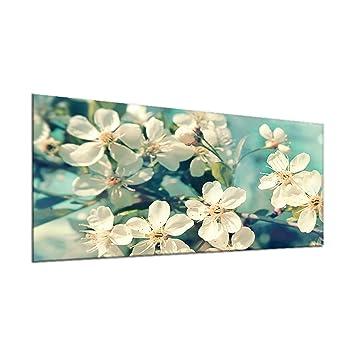2x30x52 cm Herdabdeckplatten aus Glas Spritzschutz 3D-Blöcke