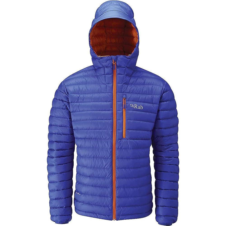 ラブ アウター ジャケットブルゾン Rab Men's Microlight Alpine Jacket Electric / 1qf [並行輸入品] B076WM98ZH