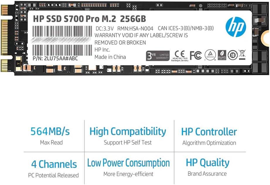 Hp S700 Pro M 2 256gb Ssd Computer Zubehör