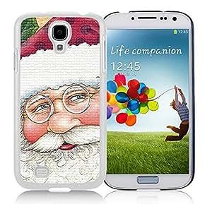 Customized Samsung S4 TPU Protective Skin Cover Santa Claus White Samsung Galaxy S4 i9500 Case 16