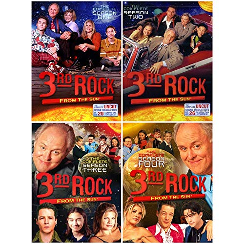 3rd Rock from the Sun: TV Series Complete Seasons 1-4 DVD Collection