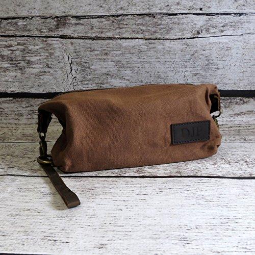 c6871ad1a4 Personalized Mens Travel Bag - Shaving Kit- Monogrammed Dopp Kit- Toiletry  Bag - Groomsmen
